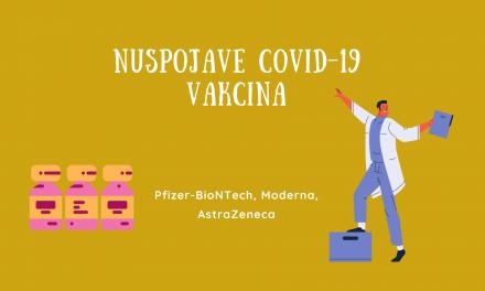 Nuspojave vakcina protiv COVID-19