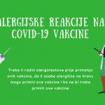 Alergijske reakcije nakon vakcinacije protiv COVID-19: ko ne smije primiti vakcinu