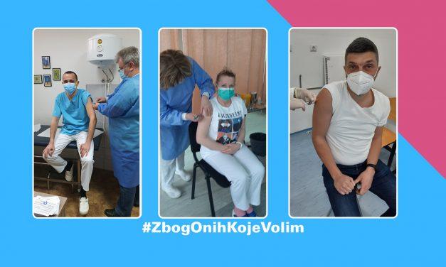 Lična iskustva vakcinacije protiv COVID-19: pedijatri #ZbogOnihKojeVolim