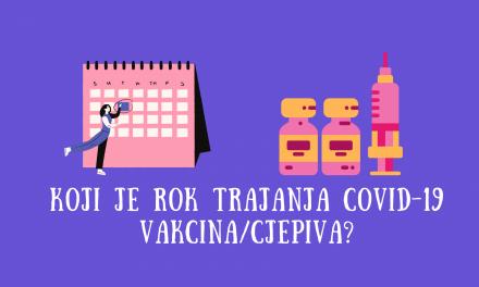 Rok trajanja COVID-19 vakcina/cjepiva