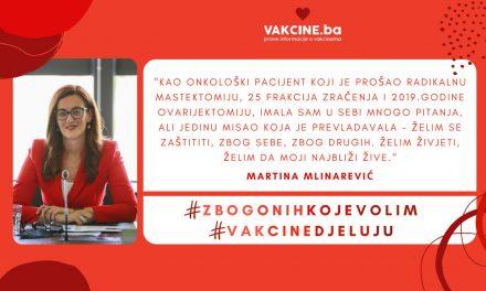 Iskustvo COVID-19 vakcinacije: Martina Mlinarević