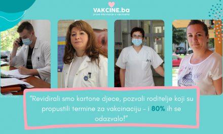 Uspješna imunizacija djece u Bosansko-podrinjskom kantonu
