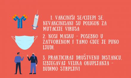 Imunolog Srđa Janković: vakcinacija je odbrana od stvaranja novih varijanti virusa