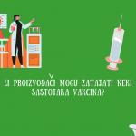 Da li proizvođači vakcina smiju zatajiti neki od sastojaka ?